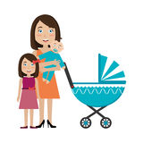 Family design, vector illustration. vector illustration
