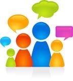 Family dialog Royalty Free Stock Image