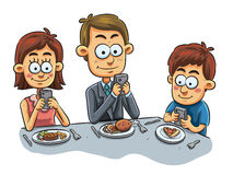 Free Family Dinner Royalty Free Stock Images - 39853949