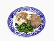 Family  Dinner Plate Royalty Free Stock Photography