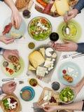 Family dinner Stock Image