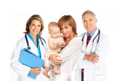 Family doctor Stock Images