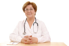 Family doctor Stock Photography