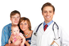 Family doctor Royalty Free Stock Photos