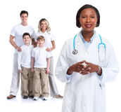 Family doctor. Royalty Free Stock Image