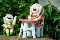 Family dolls Stock Photos