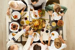 Free Family Eating Meat With Vegetables Stock Photos - 160817903