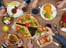 Family eating Stock Image