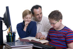 Family Education Stock Photography