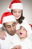 Family enjoying Christmas Stock Photos