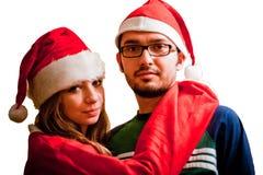 Family enjoying Christmas Stock Photography