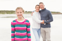 Family enjoying a day out Royalty Free Stock Images