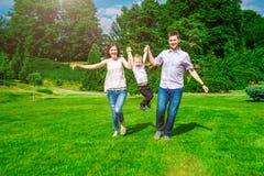 Family - enjoying the life together Royalty Free Stock Photo