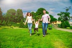 Family - enjoying the life together Royalty Free Stock Image