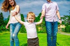Family - enjoying the life together Stock Photos