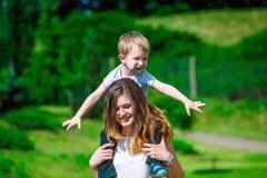 Family - enjoying the life together Stock Photo