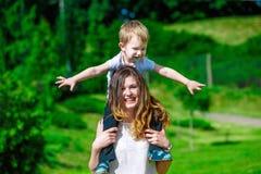 Family - enjoying the life together Stock Image