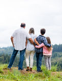 Family enjoying nature Stock Image