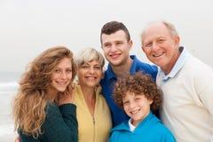 Family enjoying their vacation Stock Photos