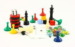 Family Entertainment Game Night royalty free stock photo