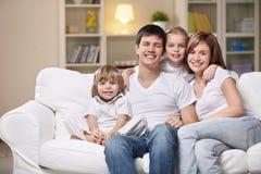 Family Evening Stock Photos
