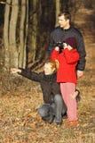 Family excursion Stock Photos