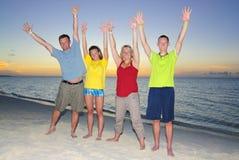 Family Exercise Royalty Free Stock Photo