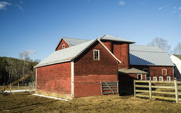 Family Farm Buildings Vermont Stock Photo