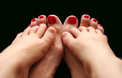 Family Feet Royalty Free Stock Photo