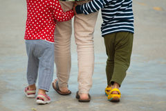 family feet stock photography