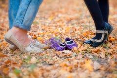 Family feet Stock Photography