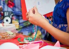 Family festival in Zaporozhye, Ukraine Stock Photos
