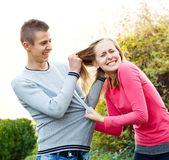 Family fight Royalty Free Stock Image