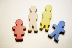 Family Figures Stock Photography