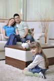 Family finance Royalty Free Stock Photography