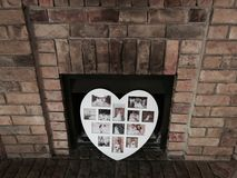 Family fireplace Royalty Free Stock Photos