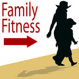 Family Fitness Stock Photos