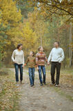 Family of four Stock Photography