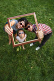 Family frame Royalty Free Stock Images