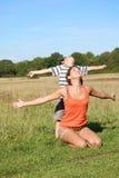 Family freedom Royalty Free Stock Photo
