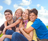 Family-fun 3 Stock Photo