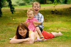 Family Fun Royalty Free Stock Photos