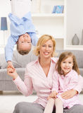 Family fun Royalty Free Stock Photo