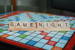 Free Family Fun Board Game Night Royalty Free Stock Photography - 170231867