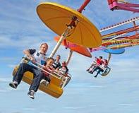 Free Family Fun On Fairground Ride Royalty Free Stock Photo - 33181615