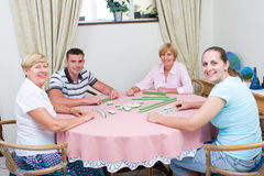 Family game Royalty Free Stock Photography