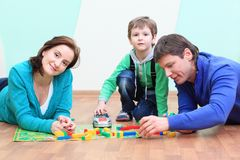 Family game Royalty Free Stock Images