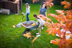 Family gardening Royalty Free Stock Photography