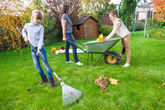 Family gardening Royalty Free Stock Image