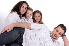 Family gathering Stock Photography